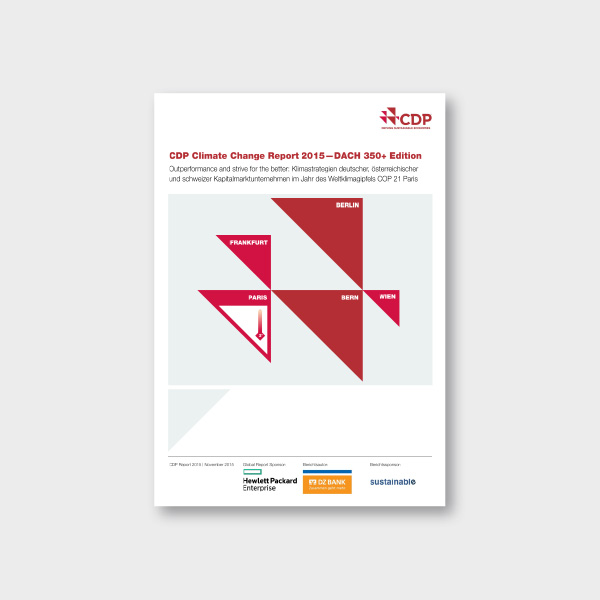 CDP (2015): Climate Change Report 2015 – DACH 350+ Edition